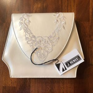 Ivory j.renee wedding handbag